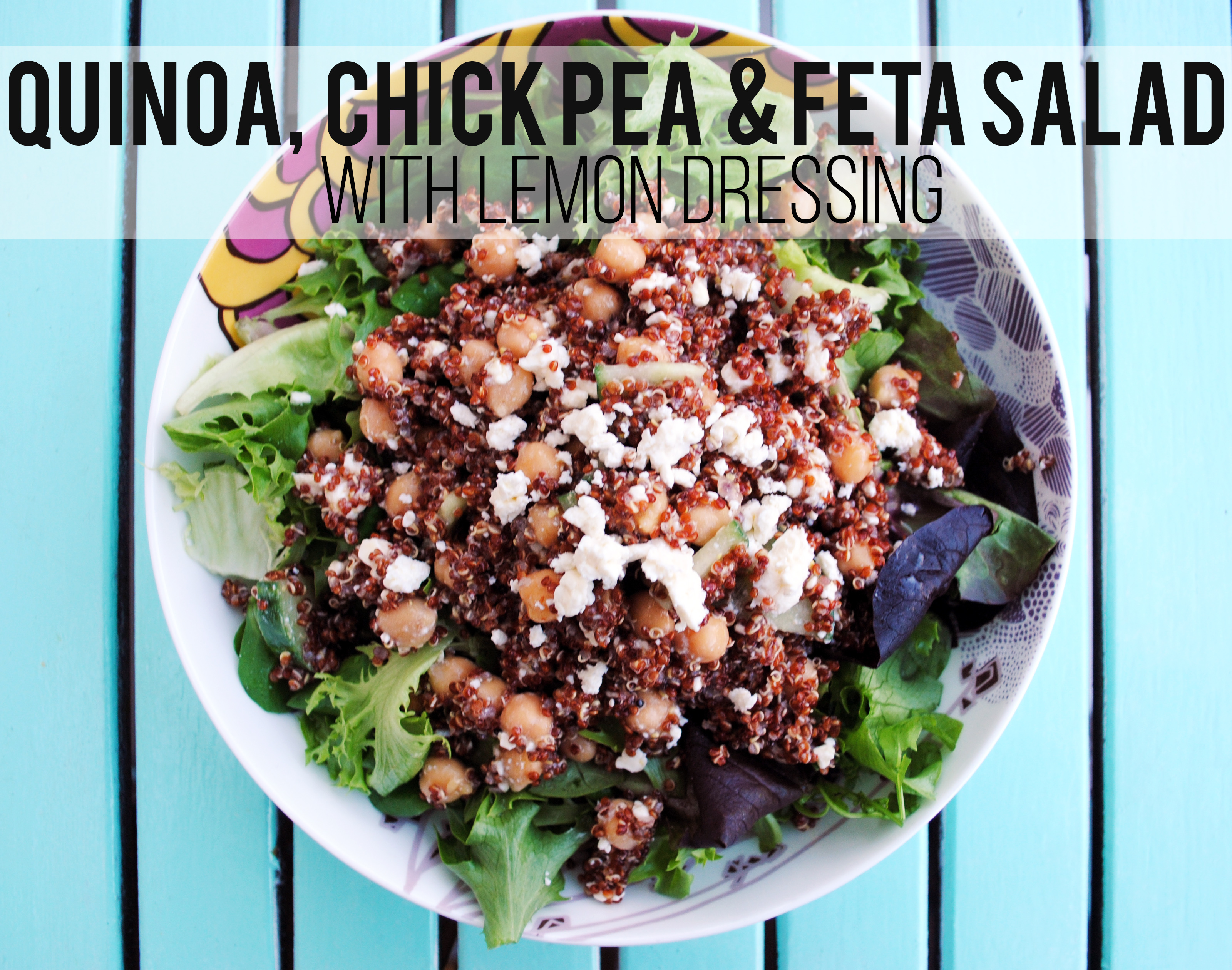 Tangerine Canteen Summer Salads - Quinoa, Chick Pea & Feta
