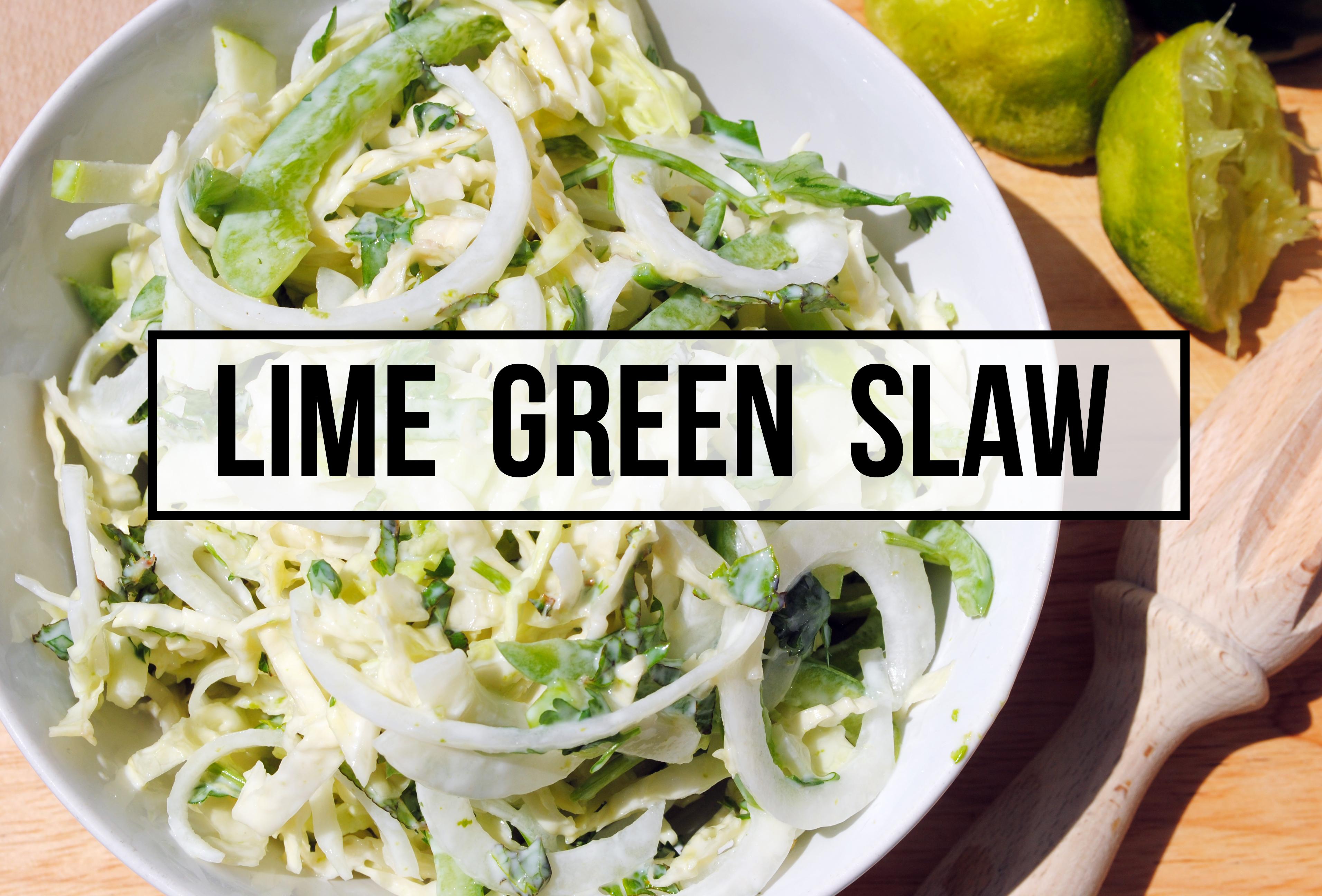 Lime Green Slaw