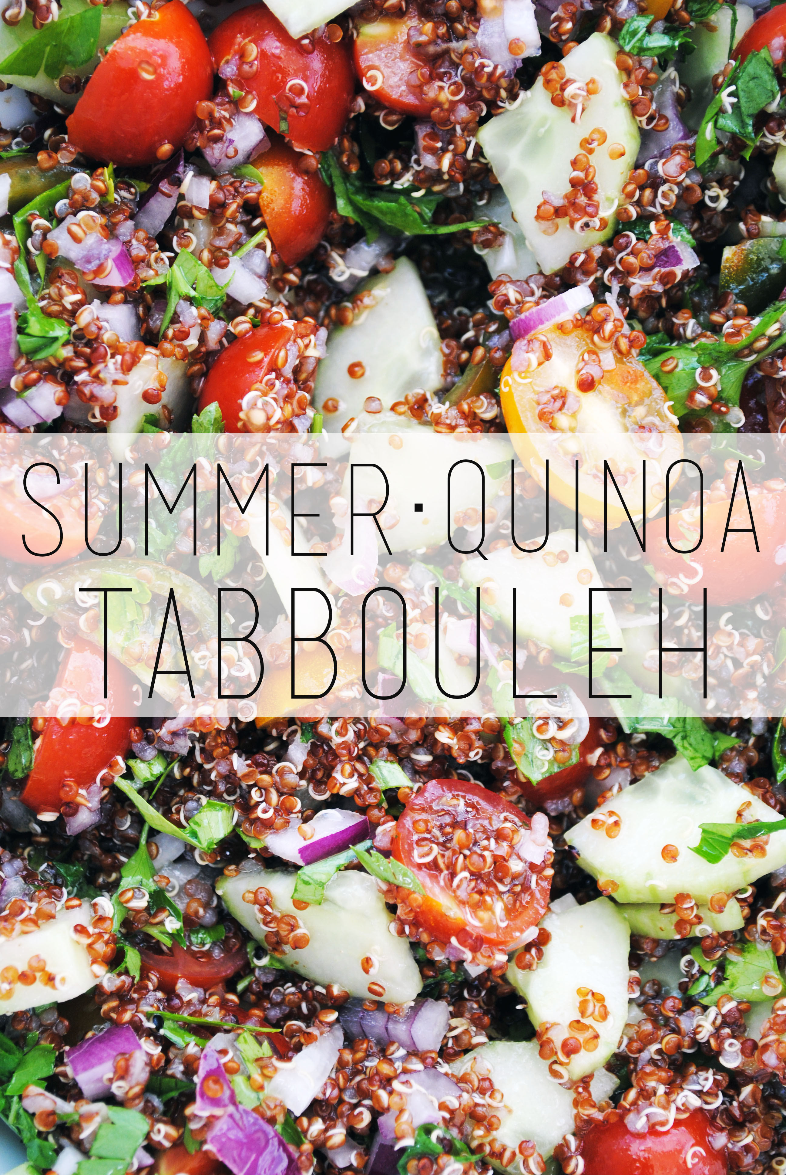 Tangerine Canteen Summer Tabbouleh