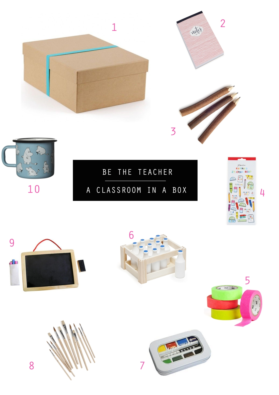 Tangerine Canteen - Classroom In A Box