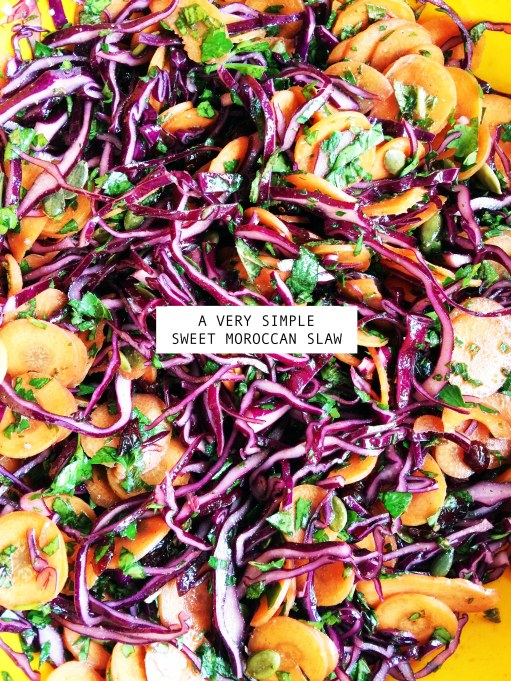 Tangerine Canteen Simple Sweet Moroccan Slaw